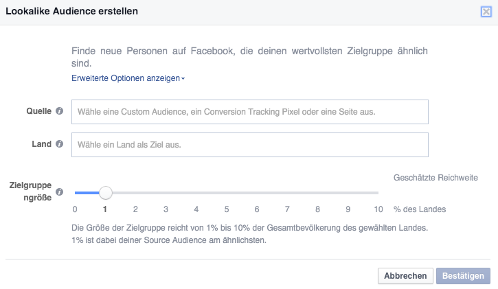 Facebook-Zielgruppe-Lookalike-Audiences
