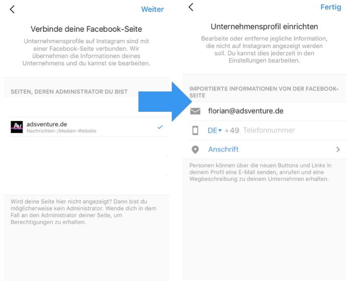 Instagram-Business-Profil-Beitrag-bewerben-2
