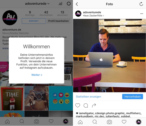 Instagram-Business-Profil-Beitrag-bewerben-4