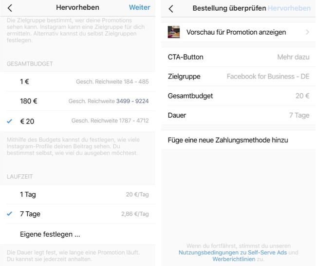Instagram-Business-Profil-Beitrag-bewerben-8