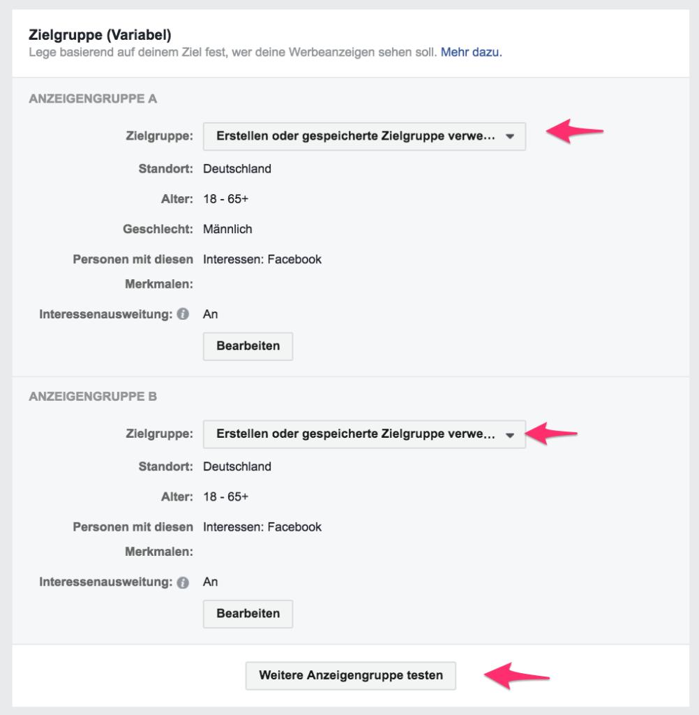 Facebook alter ändern