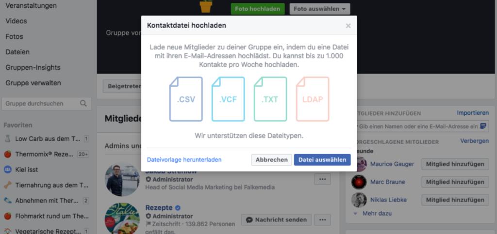 Facebook Gruppe Mit Facebook Ads Bewerben 5