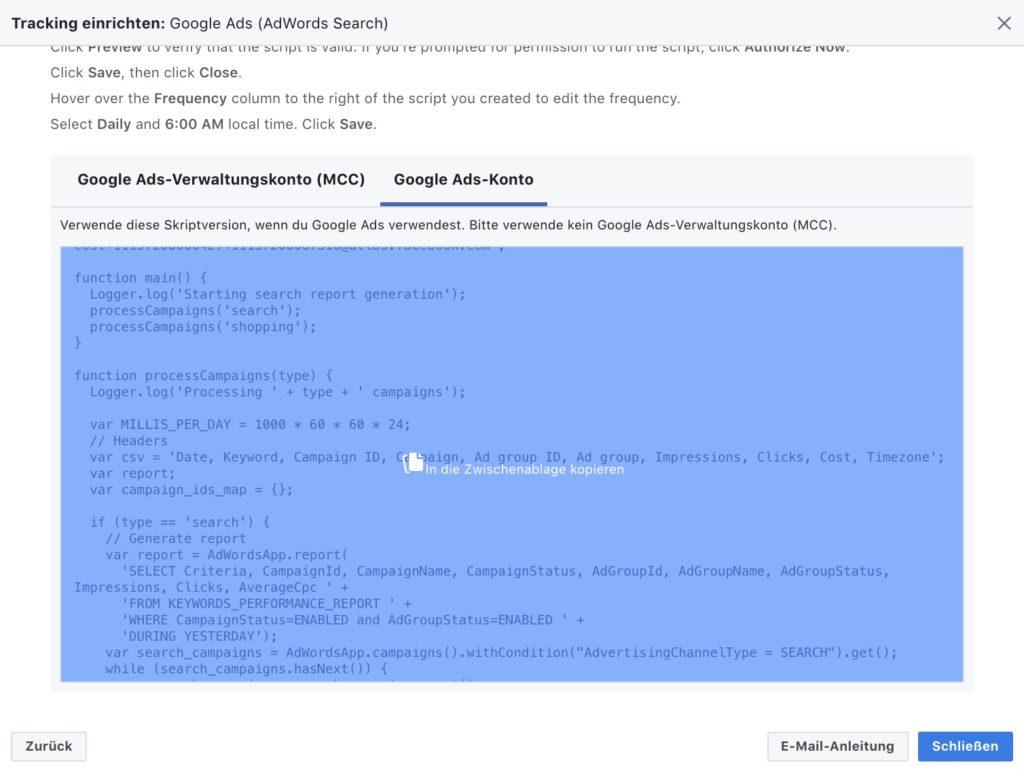 So startest du mit Facebook-Attribution und verbindest dein Google
